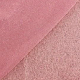Jersey towel fabric - light coral x 10cm