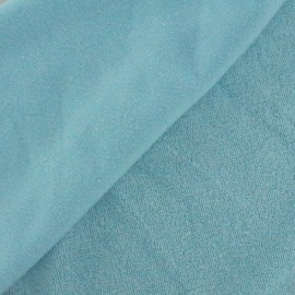 Jersey towel fabric - sky blue x 10cm