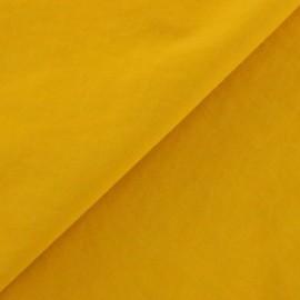 Tissu déperlant souple curry x 10cm