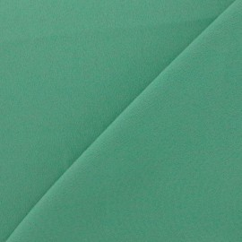 Tissu crêpe envers satin vert sauge x 10cm
