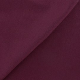 Wool broadcloth fabric - fig x 10cm