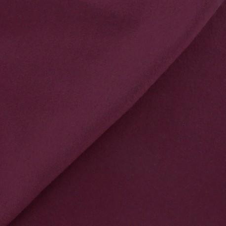 Wool broadcloth fabric - fig x 10cm