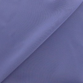 Crepe with satin reverse side Fabric - lavander x 10cm
