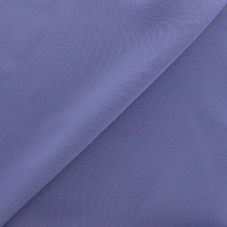 Crepe with satin reverse side Fabric - taupe x 10cm