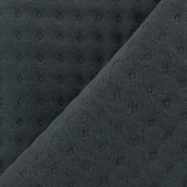 ♥ Coupon de tissu 13 cm X 180 cm ♥ Tissu jersey matelassé Basik Poinçon Camillette Création - grigri
