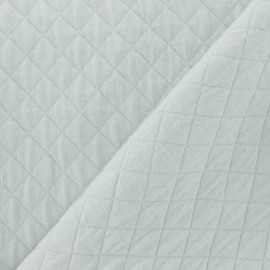 Quilted Jersey Fabric Basik X Camillette Création - grisouille x 10cm
