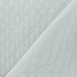Tissu jersey matelassé Basik X Camillette Création - grisouille x 10cm