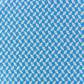 Tissu coton Oeko-Tex Petit Pan Pépin - bleu x 10cm