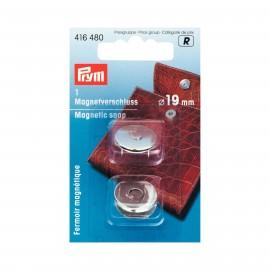 Fermoir magnétique PRYM 19mm - argent