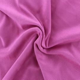 Suede elastane fabric Aspect Daim - bonbon x 10cm