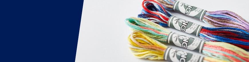 Fil coloris multicolore 517