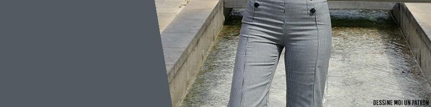 Patron Pantalon femme