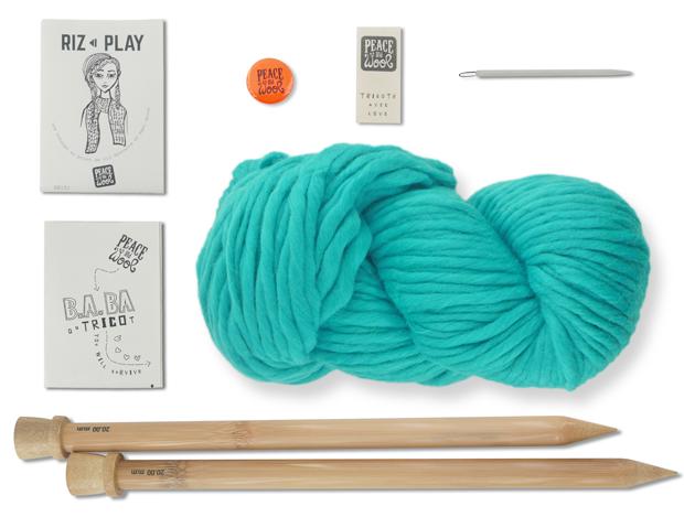kit tricot laine