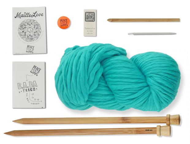 kit tricot wool