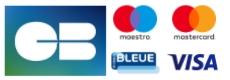 CB - E carte bleue - Maestro - Mastercard - Visa