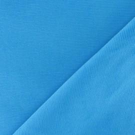 Tissu velours milleraies 200gr/ml bleu