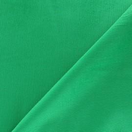 Tissu velours milleraies 200gr/ml vert