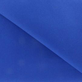 Tissu Coton épais bleu Roy