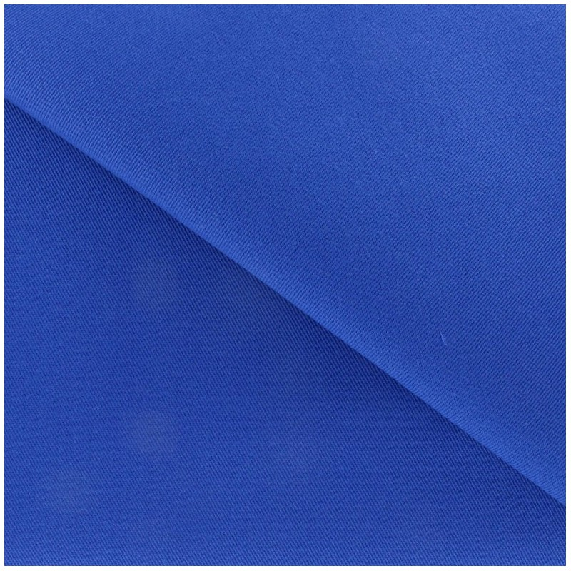tissu coton pais bleu roy x 10 cm ma petite mercerie. Black Bedroom Furniture Sets. Home Design Ideas