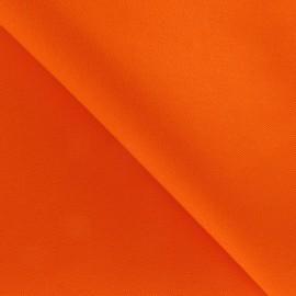 Tissu Coton épais orange vif