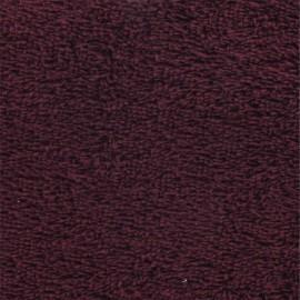 Tissu éponge Bordeaux