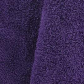 Tissu éponge violet