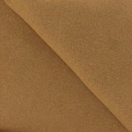 Tissu Drap de laine noisette