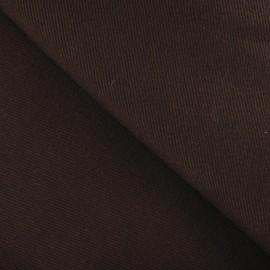 Tissu manteau marron
