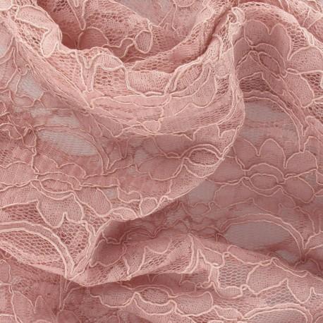 tissu dentelle vieux rose x 10cm ma petite mercerie. Black Bedroom Furniture Sets. Home Design Ideas