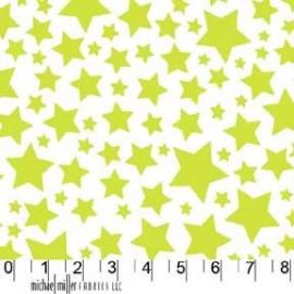 Tissu Super Stars Lime
