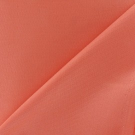 Tissu piqué de coton corail x 10cm