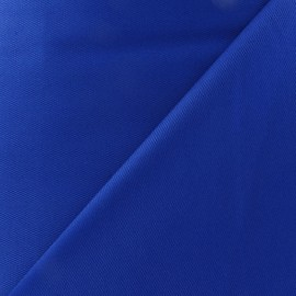 Tissu piqué de coton bleu Roy x 10cm