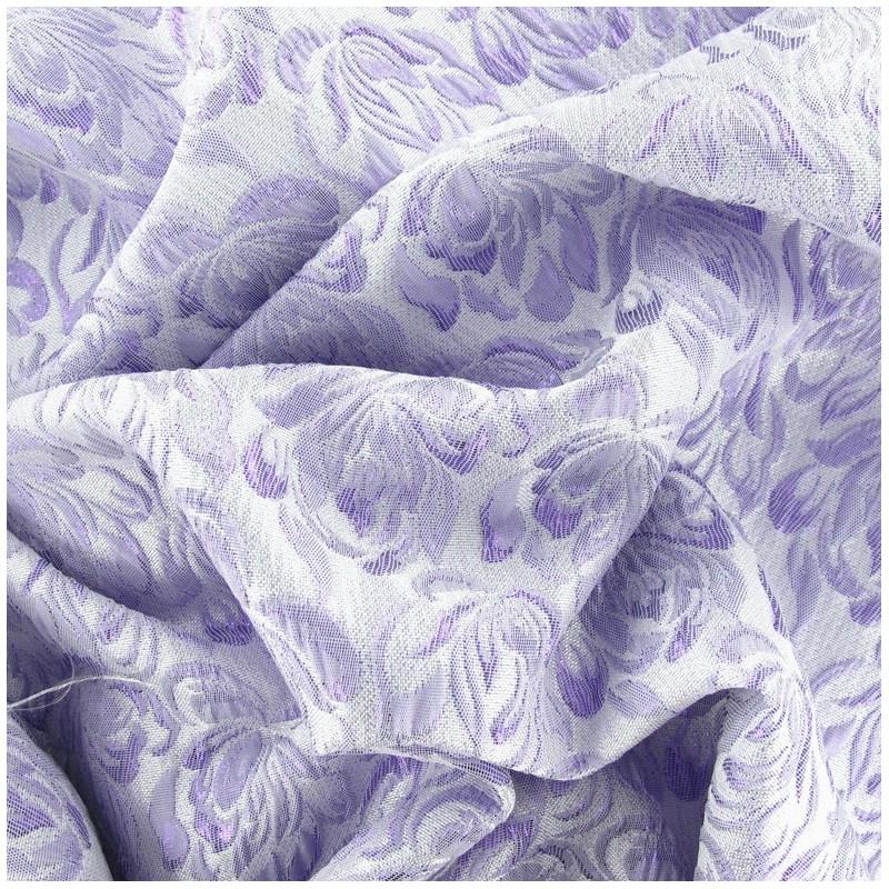 tissu damass aliz parme x 10cm ma petite mercerie. Black Bedroom Furniture Sets. Home Design Ideas
