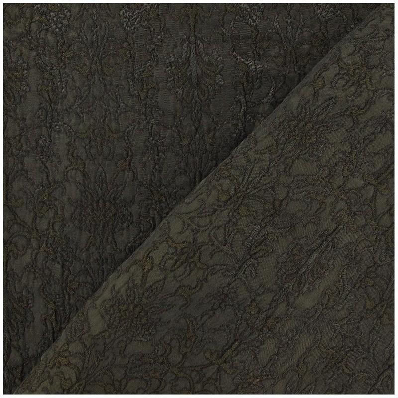 tissu damass royal militaire x 10cm ma petite mercerie. Black Bedroom Furniture Sets. Home Design Ideas