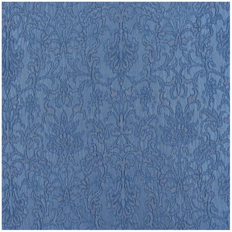 tissu damass royal bleu acier x 10cm ma petite mercerie. Black Bedroom Furniture Sets. Home Design Ideas