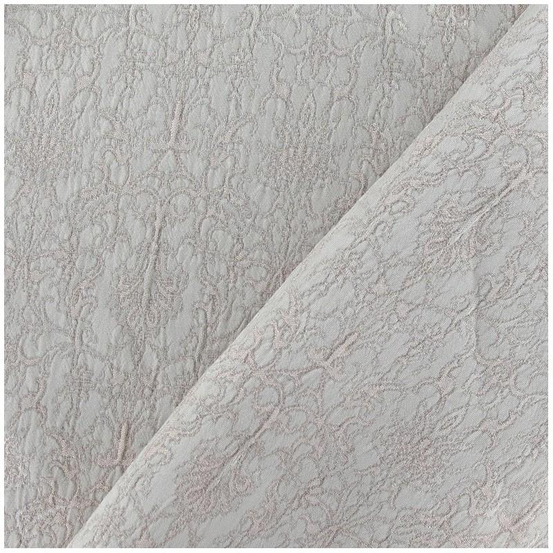 tissu damass royal beige x 10cm ma petite mercerie. Black Bedroom Furniture Sets. Home Design Ideas