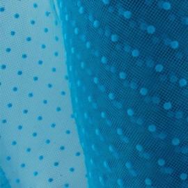 Tulle plumetis turquoise x10cm