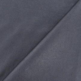 Simili cuir nacré gris x 10cm
