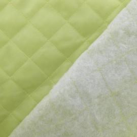 Doublure matelassée vert pistache x 10cm