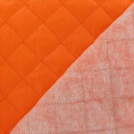 Doublure matelassée orange fluo x 10cm