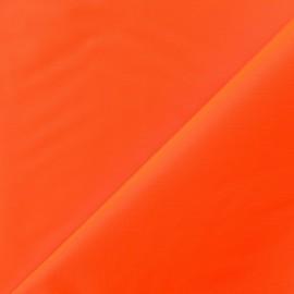 Tissu toile Velabag orange fluo x 10cm