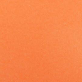 Tissu thermocollant paillettes orange fluo