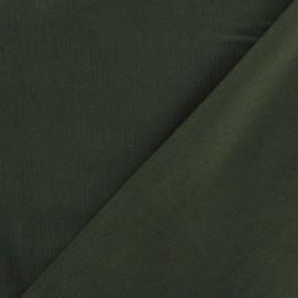 Tissu velours milleraies 200gr/ml V2 militaire x 10cm