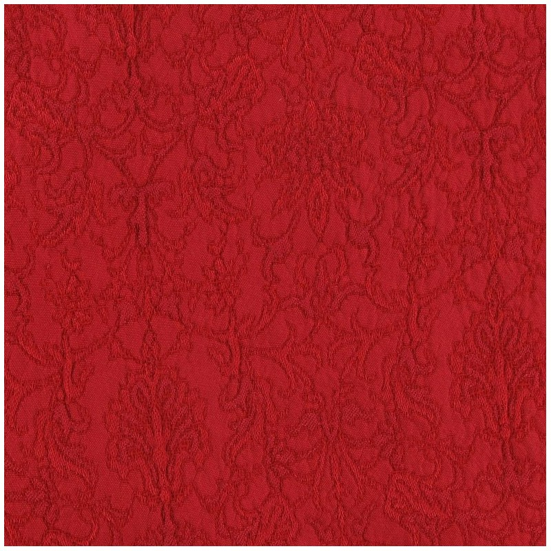 tissu damass royal rouge x 10cm ma petite mercerie. Black Bedroom Furniture Sets. Home Design Ideas