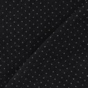 Tissu jeans noir mini pois 2mm x 10cm