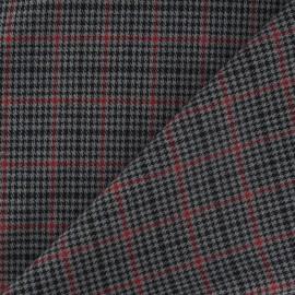 Tissu tartan petit écossais gris x10cm