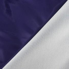 Tissu vinyl violet x 10cm