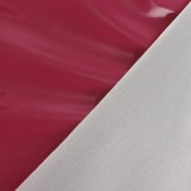 Tissu vinyl rose fuchsia x 10cm