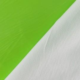 Tissu vinyl anis fluo x 10cm