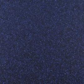 Tissu thermocollant paillettes marine